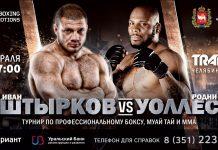 Международный турник по боксу и MMA в Челябинске