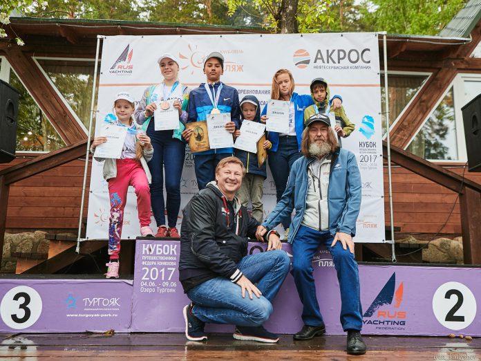 На озере Тургояк завершился ежегодный «Кубок путешественника Федора Конюхова»