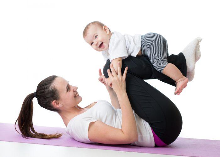 Фитнес после родов. Как вернуть форму после беременности?