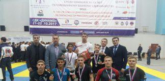 Южноуральцы выиграли первенство России по ММА
