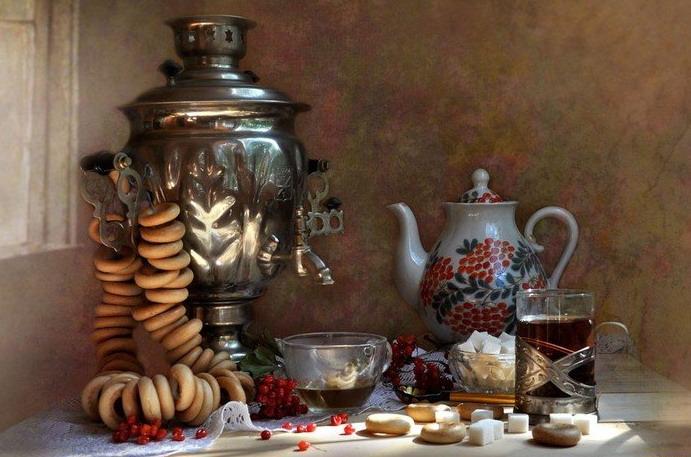 чаепитие на руси традиции