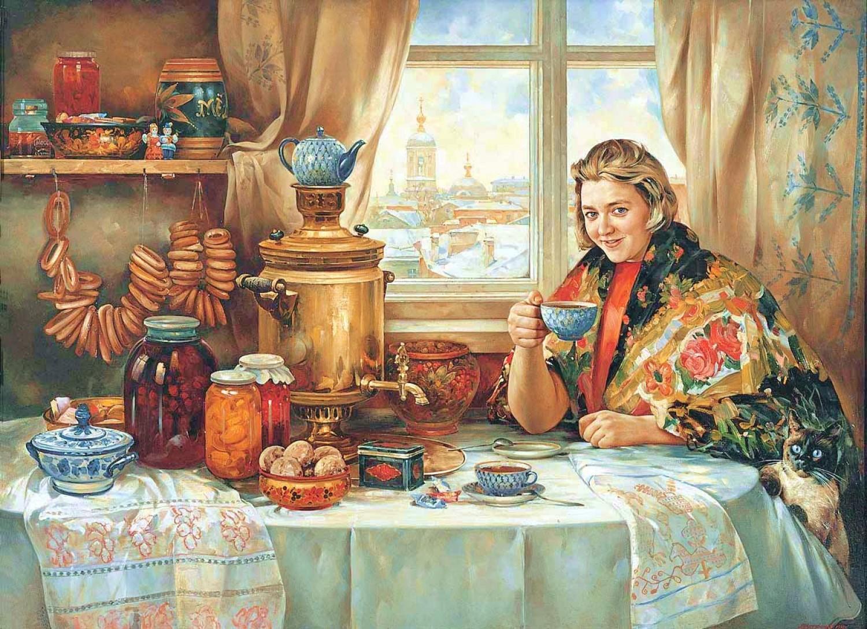 чаепитие на руси обычаи