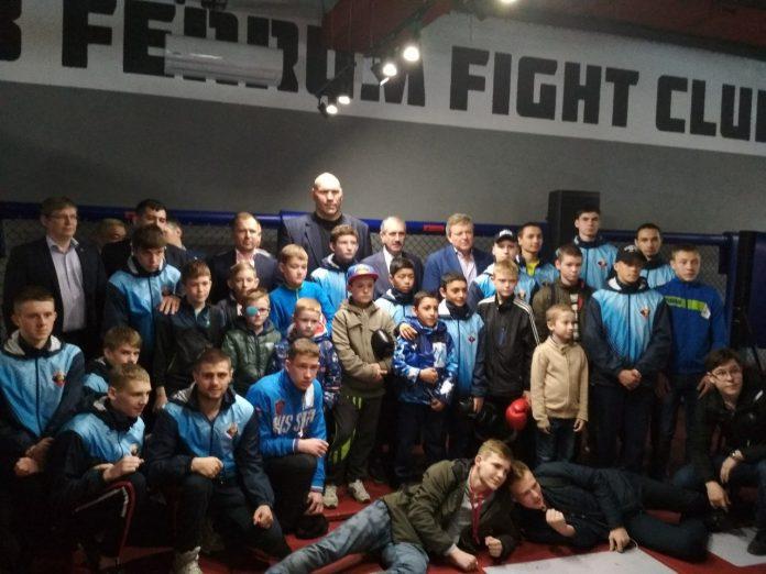 открытие зала единоборств и MMA