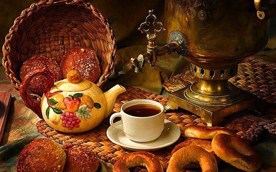 история чаепития на руси