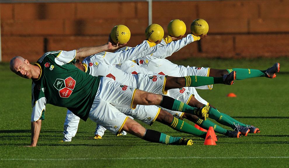 физическая нагрузка для футболистов
