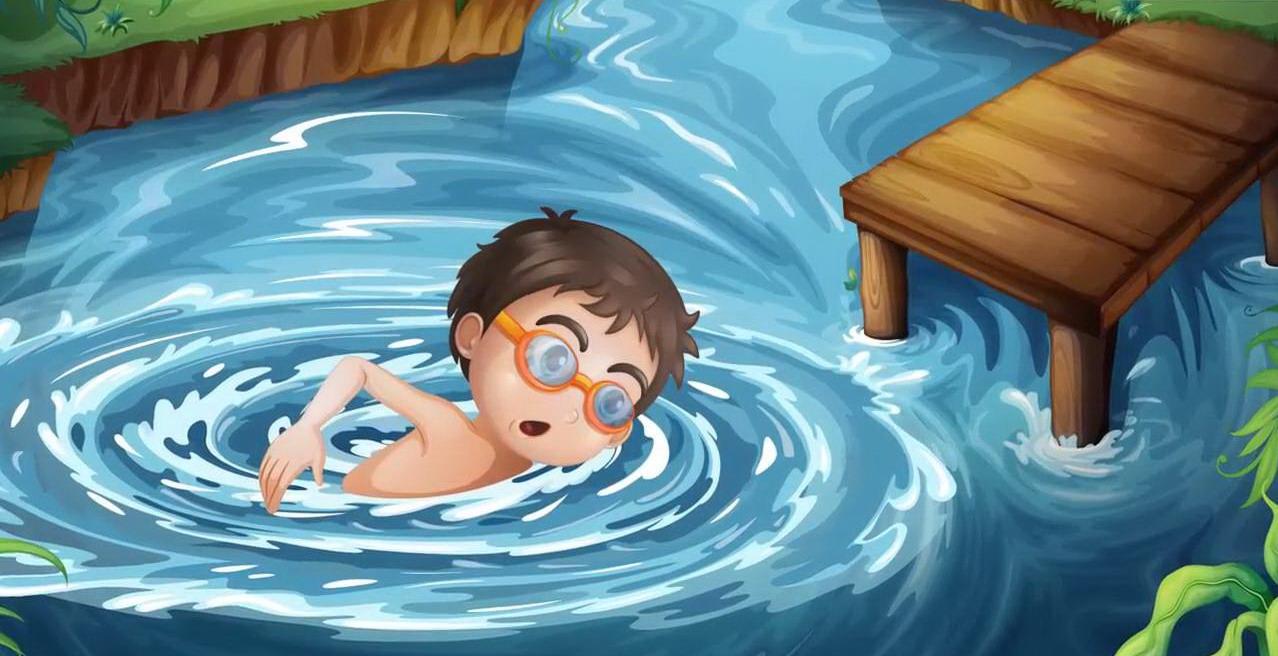 правила поведения у водоема