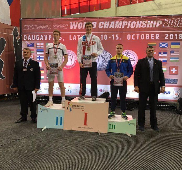 Вячеслав Плотников победителем первенства мира по гиревому спорту 2018
