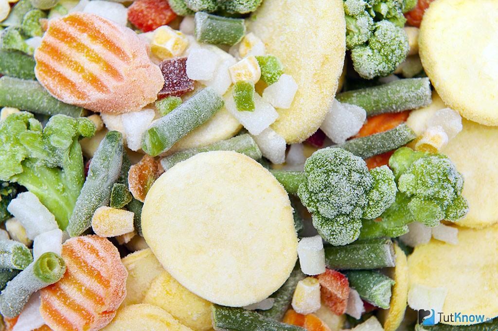 заготовка на зиму овощи