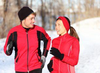 бег зимой на улице одежда