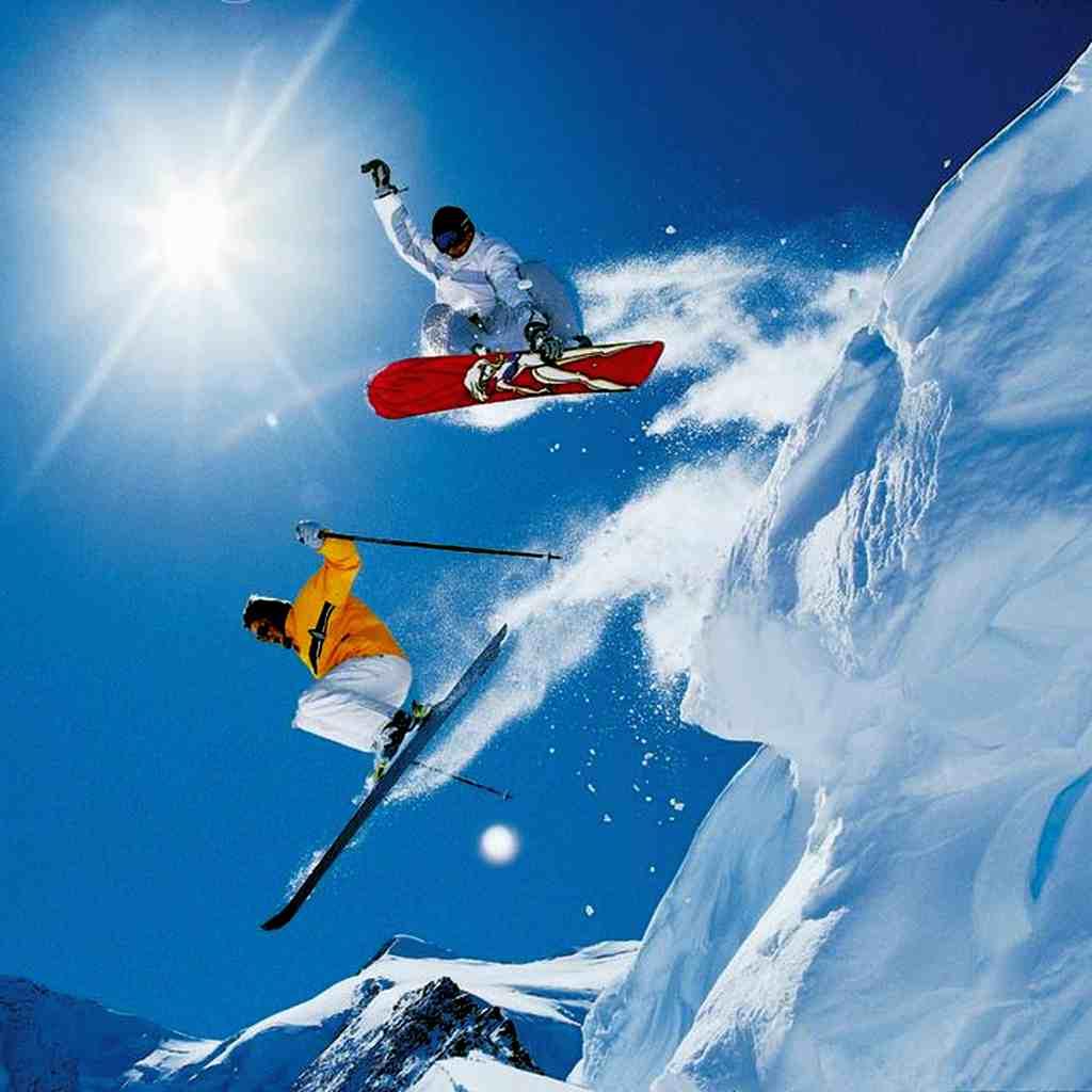 горные лыжи польза для фигуры