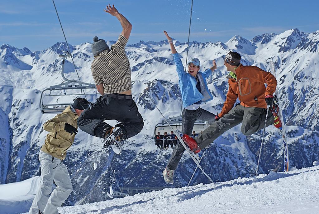 какие мышцы работают при езде на горных лыжах