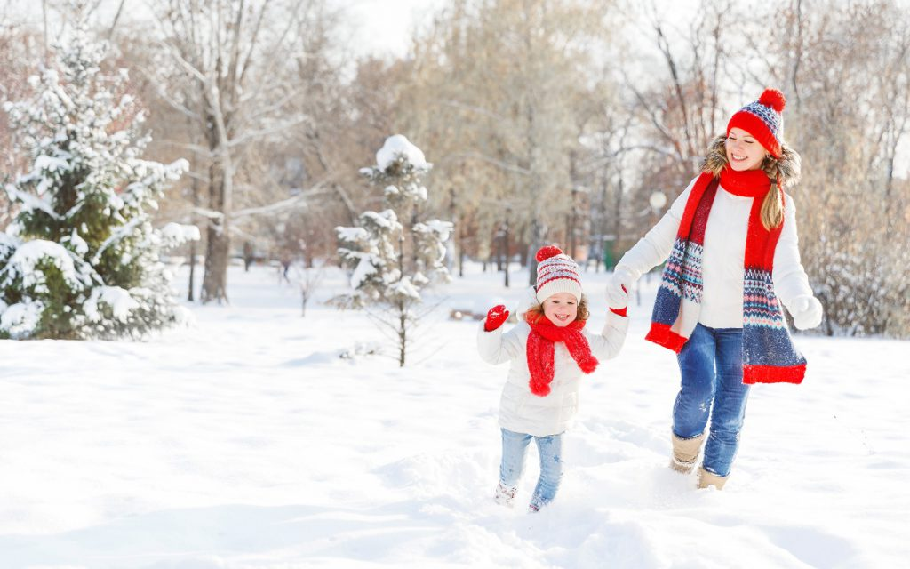 где можно провести новогодние каникулы с детьми
